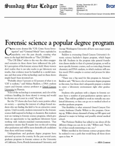 Forensic Science article