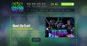 Neon Bubble Dash - Website