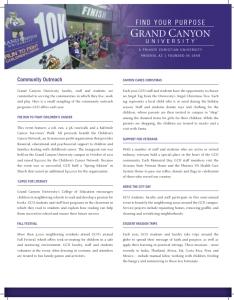 Press kit - Community Outreach